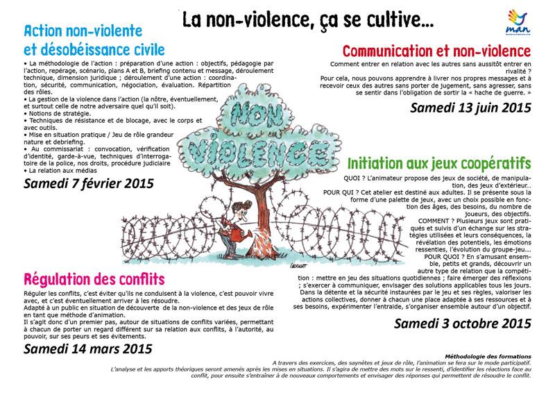 Programme de formation 2015 - Mouvement pour une ... Non Violent Resistance Pdf